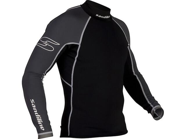 Sandiline Skin 05 Superflex Shirt LS Black/Grey